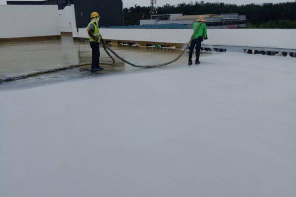 polyurea-flat-roof